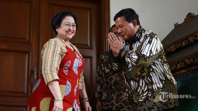 Megawati Memohon ke Prabowo Loloskan Bambang Soesatyo Jadi Ketua MPR