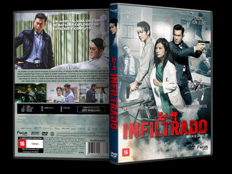 Capa DVD Infiltrado [Custom]
