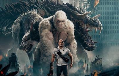 Rampage, Hancurnya Kota Karena Tiga Monster Mengamuk