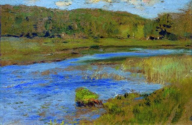 Исаак Ильич Левитан - Ветреный день. 1898-1899