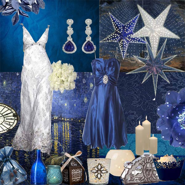 Blue Wedding Decoration Ideas
