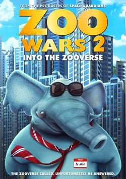 Capa Zoo Wars 2 WEB-DL 1080p Legendado