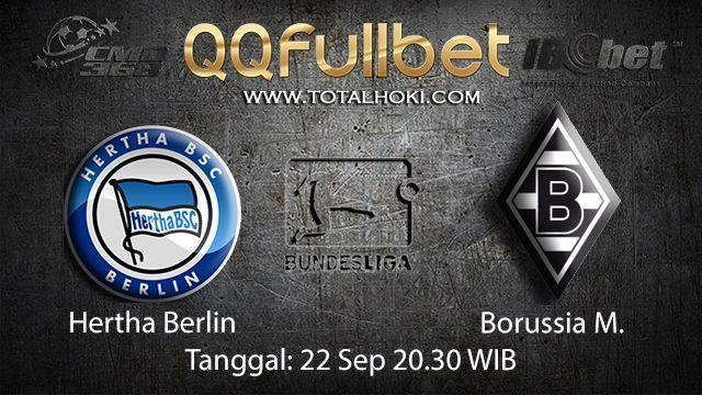 Prediksi Bola Jitu Hertha Berlin vs Borussia Monchengladbach 22 September 2018 ( German Bundesliga )