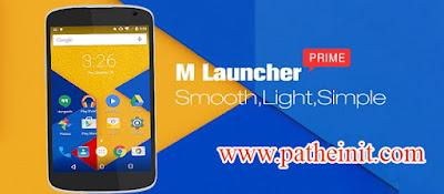 ဖုန္း Launcher ဒီဇိုင္းအလန္းစားေလး - M Launcher Pro-Marshmallow 6.0 v1.0.8 Apk