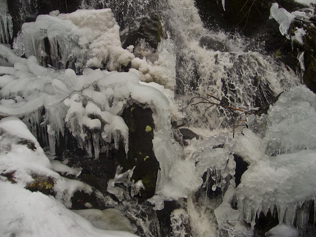 Pryden Falls, January 2013, The Zoar Trail, Sandy Hook - Newtown CT