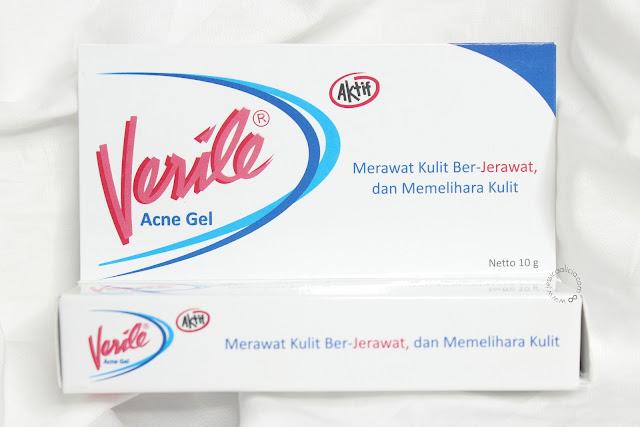 Review : VERILE, Rangkaian Perawatan untuk Kulit Berjerawat by Jessica Alicia