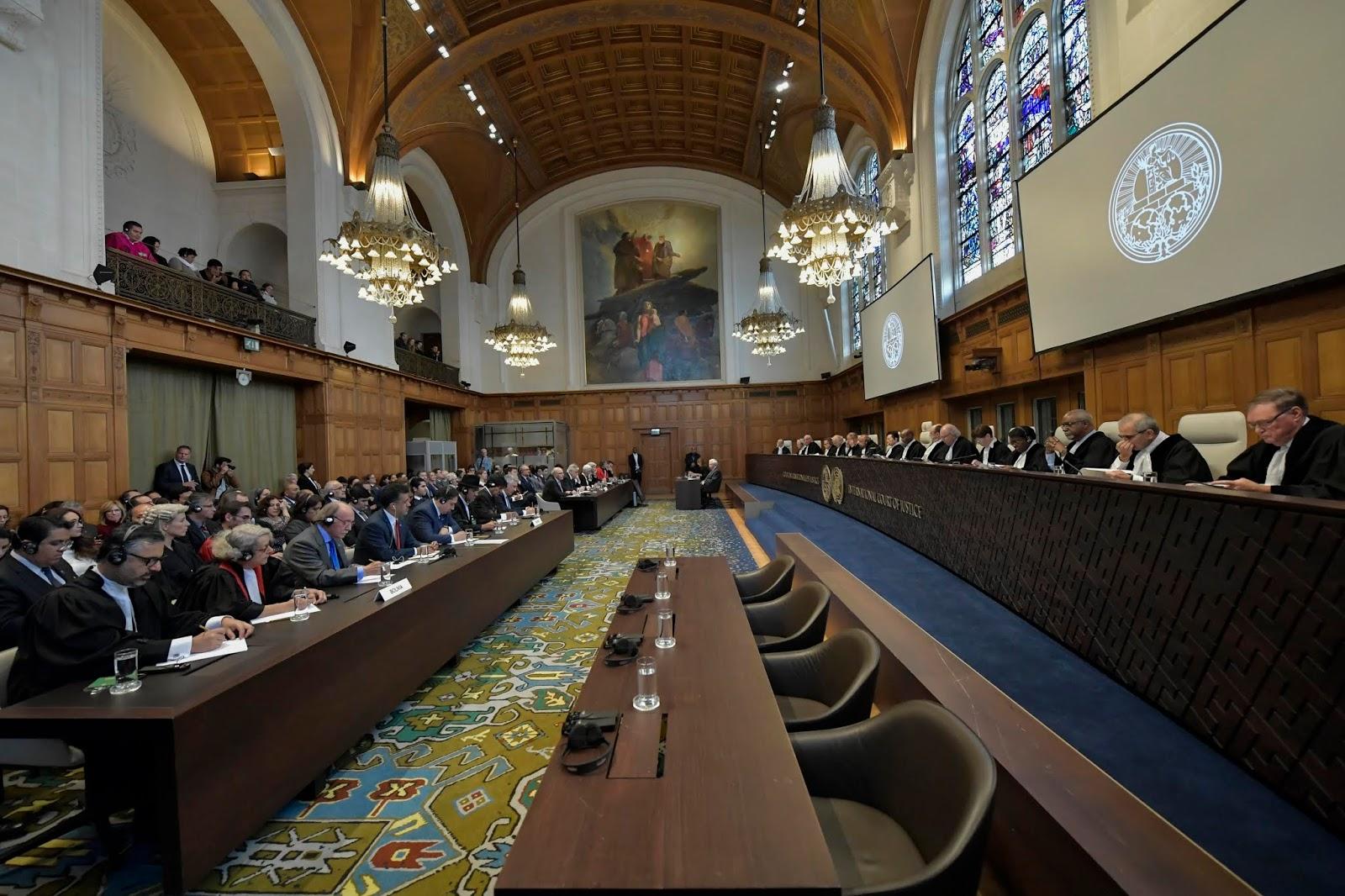 La CIJ dio lectura a su fallo en poco más de 1 hora para desestimar la demanda boliviana interpuesta en 2015 / ABI