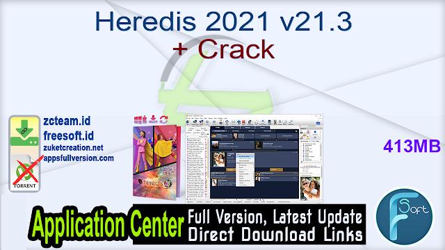 Heredis 2021 v21.3 + Crack_ ZcTeam.id