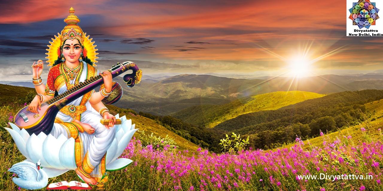 Goddess Ma Saraswati 4k UHD wallpapers, Saraswati clipart, Devi Sarasvati pics for Basant Panchami