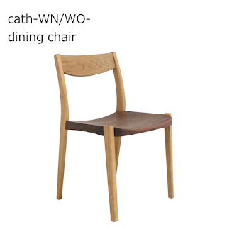 【DC-S-131-WW】キャス-WN/WO- dining chair
