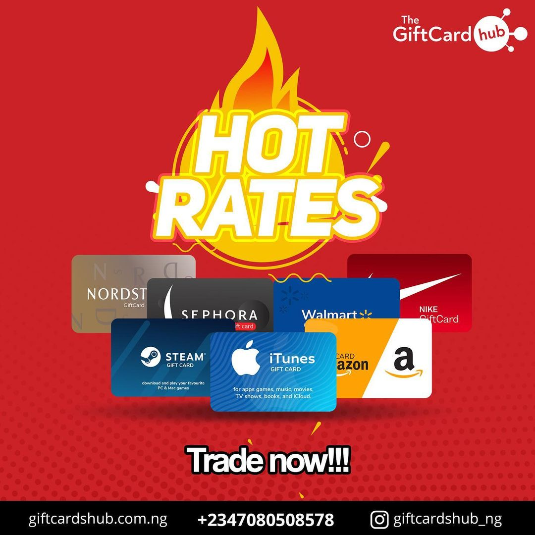 Why You Should Trade Gift Cards  on Gift Cards Hub Nigeria