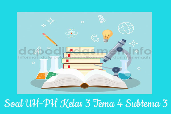 Soal UH PH Kelas 3 Tema 4 Subtema 3 Kurikulum 2013, Soal PH / UH Kelas 3 Tema 4 Subtema 3 Kurikulum 2013 Revisi Terbaru, Soal Tematik Kelas 3 Tema 4 K13 Subtema 3, Soal Ulangan Harian ( UH ) Kelas 3 Semester 1, Soal Penilaian Harian ( PH ) Kelas 3 Tema 4 Subtema 3