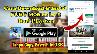 Cara Download dan Instal Game PUBG Mobile Lite Dari Playstore