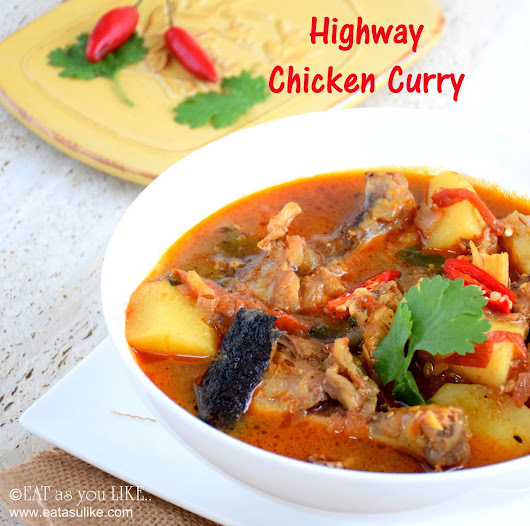 HIGHWAY CHICKEN CURRY/ DHABA STYLE CHICKEN CURRY