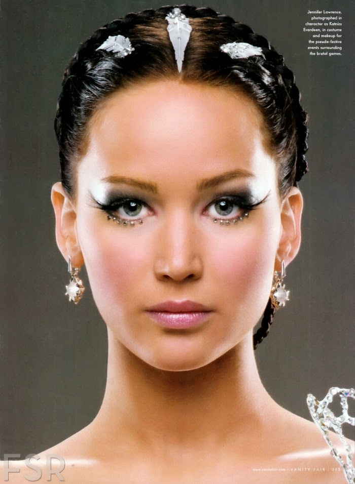 Photo Vanity Fair. Via Page To Premiere  sc 1 st  The Fashion Journalist & The Fashion Journalist: Six facts about Katniss Everdeenu0027s wedding dress