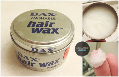 Detail Pomade  Dax Hair Wax Washable Silver