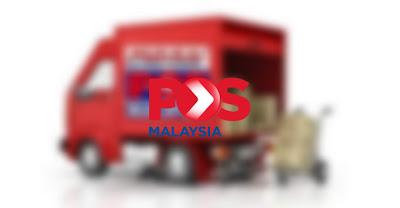 Semakan Tracking Pos Laju Malaysia Online dan SMS