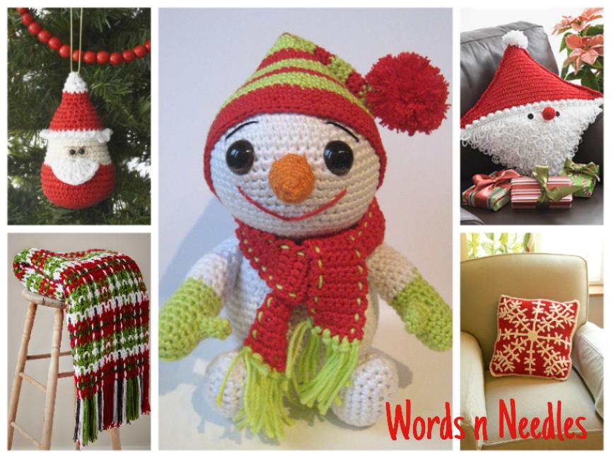 crochet patterns free pillow throw snowman