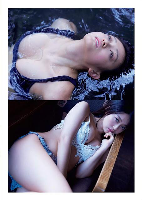 Yamachi Mari 山地まり Weekly Playboy 2016 No 3-4 Pictures 5