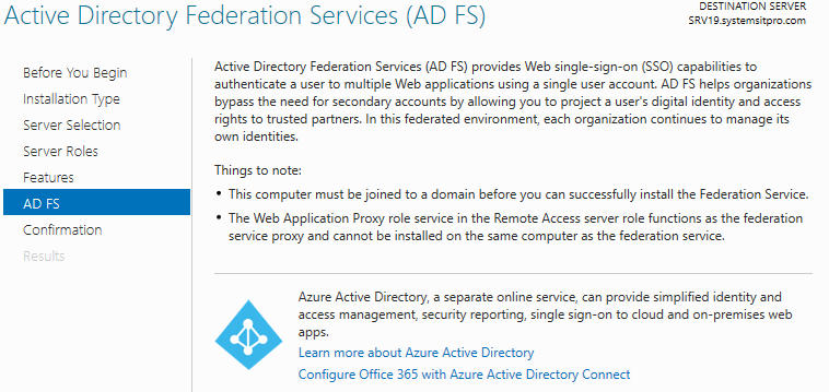 How to Deploy Active Directory Federation Services (ADFS) on Windows