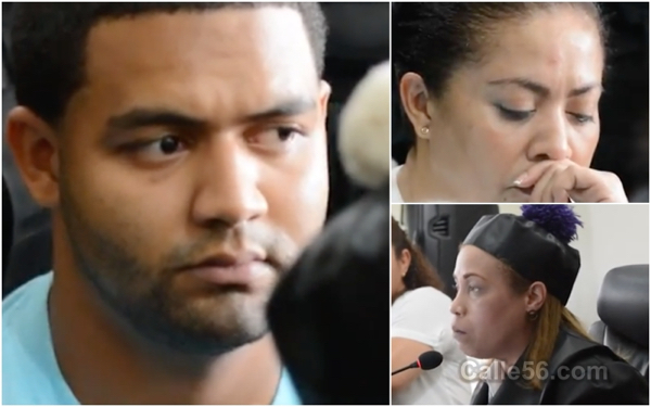 Envían a Marlin Martínez y su hijo a juicio de fondo