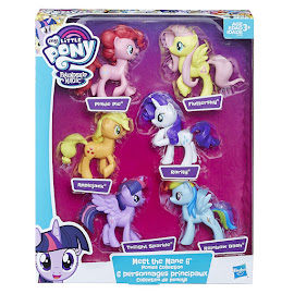 MLP Meet the Mane 6 Pinkie Pie Brushable Pony