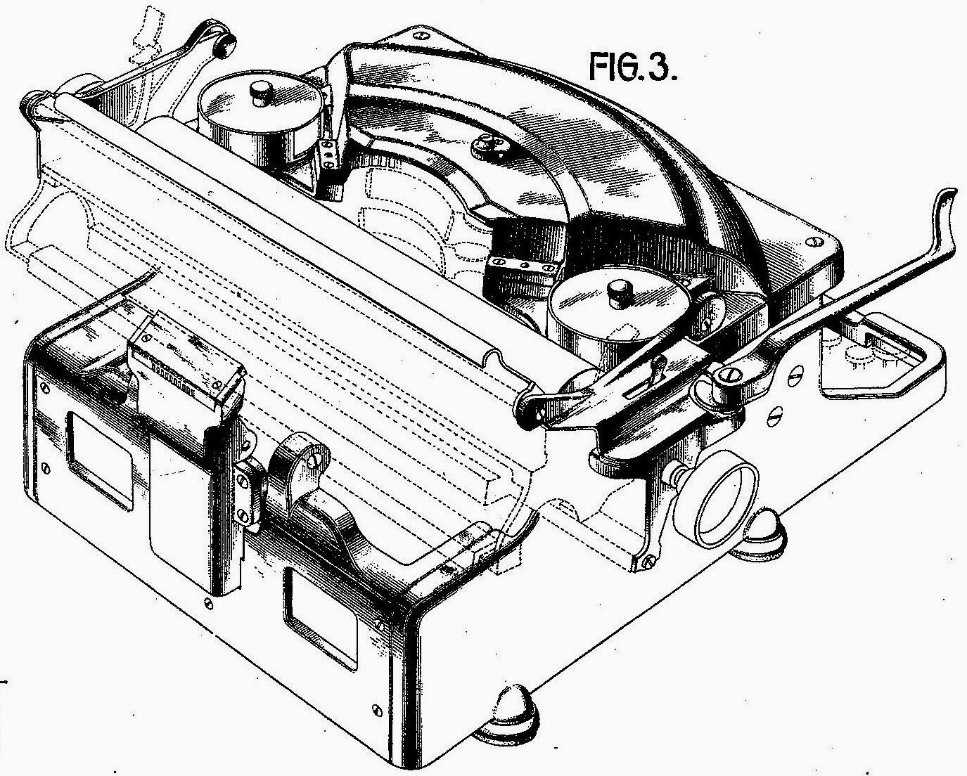 oz typewriter 1955 Hudson Italia a remington made underwood noiseless image from mytypewriter