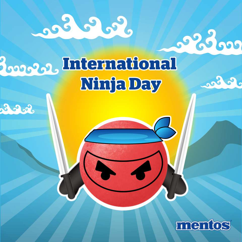 International Ninja Day Wishes