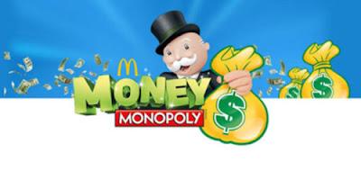 McDonalds Monopoly 2016