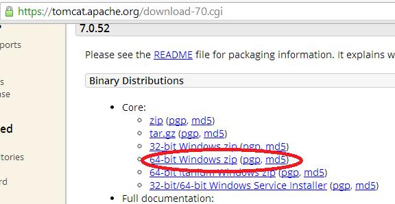 apache tomcat for netbeans 7.2.1