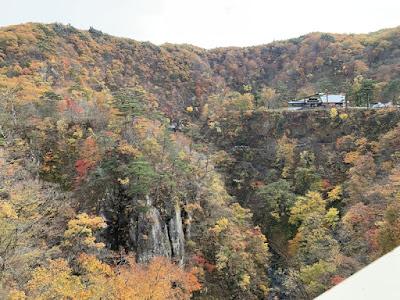 大深沢橋から見た鳴子峡