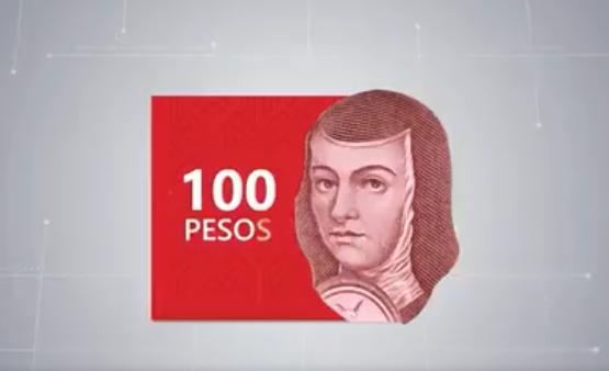 Este año habrá nuevo billete de 100 pesos con Sor Juana