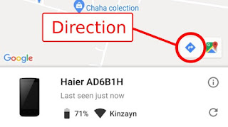 Icon direction