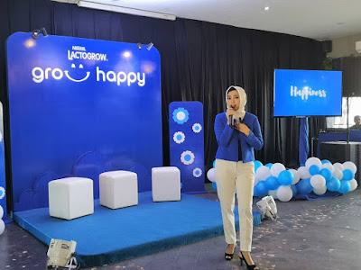 Pramudita Sarastri, Brand Executive Nestlé Lactogrow