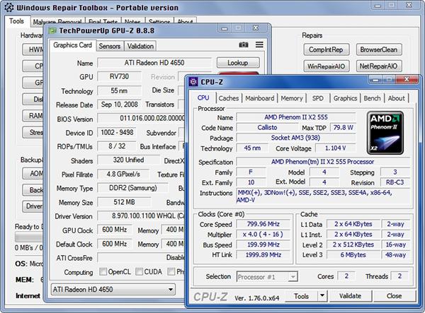 برنامج مجاني بحجم 2 ميغا لإصلاح جميع مشاكل ويندوز 10/8/7/XP بضغطة زر