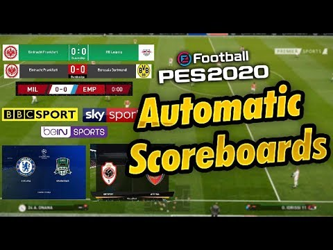 PES 2020 Automatic Scoreboards by PC PROFESSIONAL