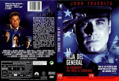 Carátula dvd: La hija del general 1999