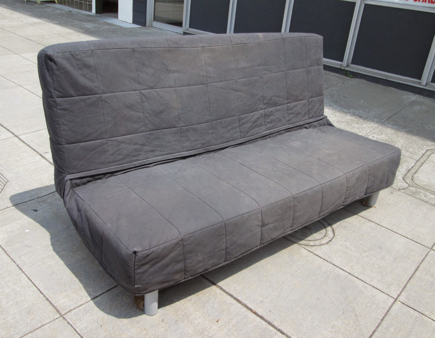 UHURU FURNITURE & COLLECTIBLES: SOLD IKEA Futon with Cover - $80