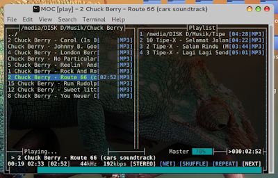 Play Music From Console Linux