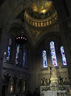 Stunning interior of the Basilique du Sacré Cœur
