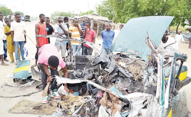 naf pilot bombed borno idps camp 3 times sacked