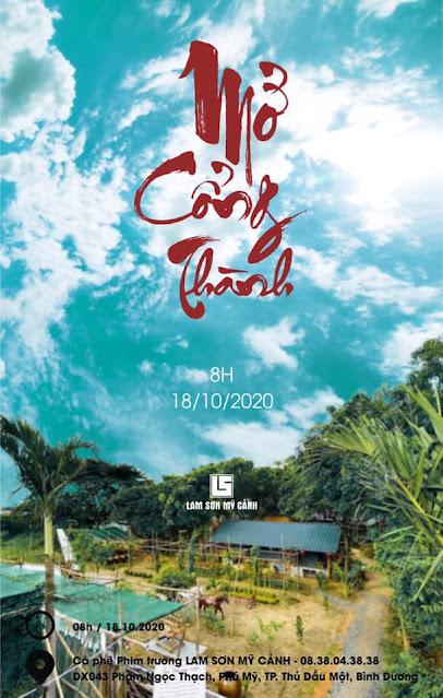 Mở cổng thành cafe phim trường Lam Sơn Mỹ Cảnh
