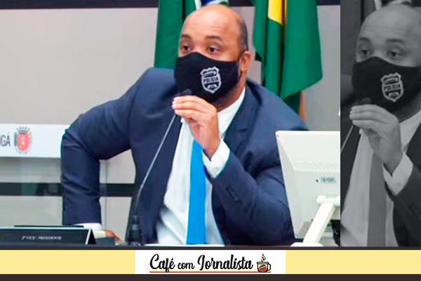 Vereador Delegado Luiz Alves (Republicanos) – Foto: Reprodução