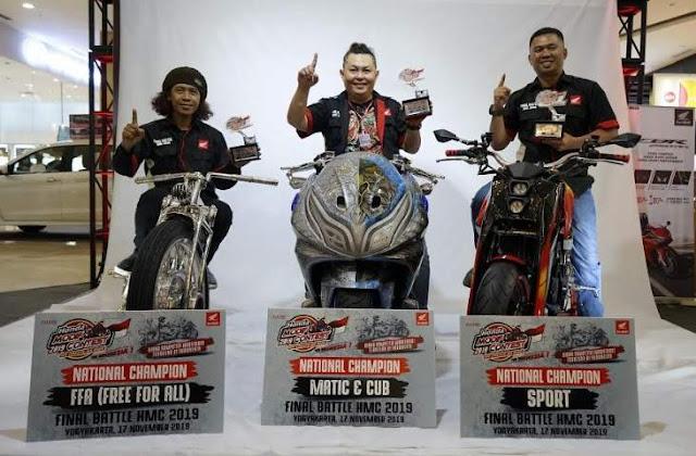 Juara Nasional Honda Modif Contest 2019