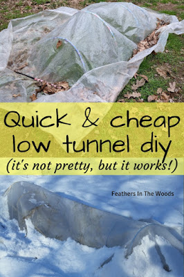 Garden tunnel, hoop house DIY