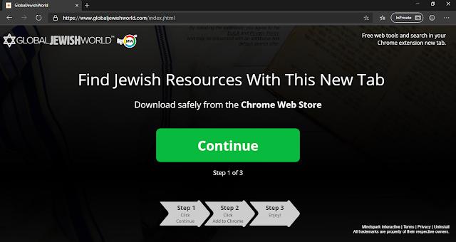 GlobalJewishWorld Toolbar