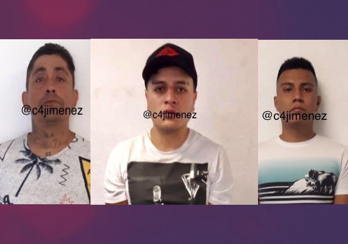 """Elementos de la SSP detienen a tres sicarios distribuidores de droga de """"La Unión Tepito"""" en la CDMX"""