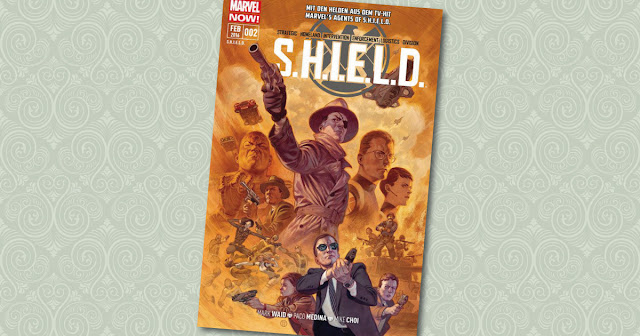 S.H.I.E.L.D. 2 Panini Cover Shield