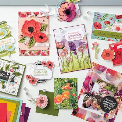 Stampin' Up! Peaceful Poppies ~ January-June 2020 Mini Catalog