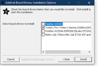 USBTinyISP driver instal